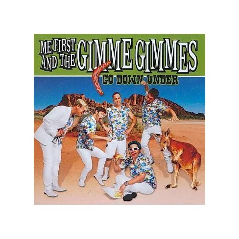 Me First and the Gimme Gimmes - Go Down Under (CD) - image 1 of 1