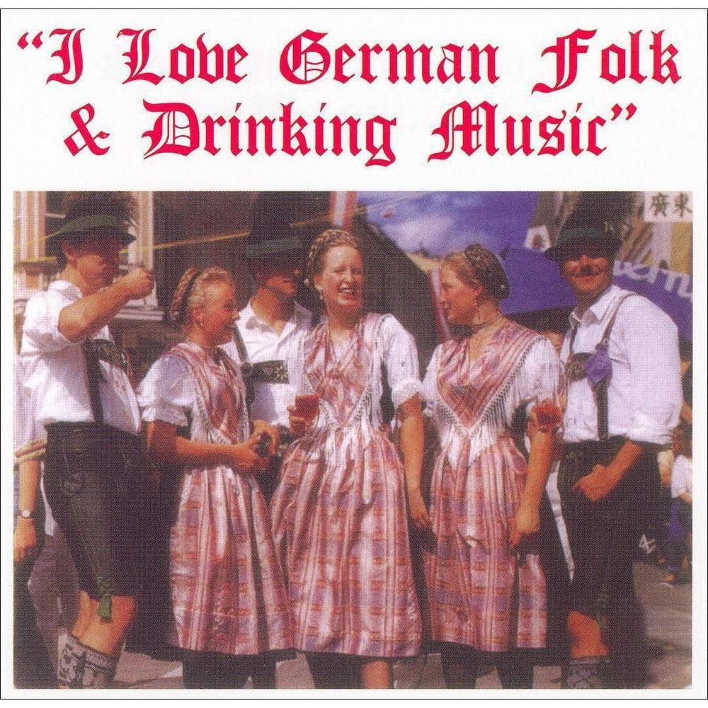 Various - I Love Ger:Folk And Drink (CD)
