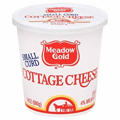 Meadow Gold Small Curd Cottage Cheese - 24oz