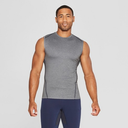 Men's Sleeveless Fitted Compression T-Shirt - C9 Champion® - image 1 of 2