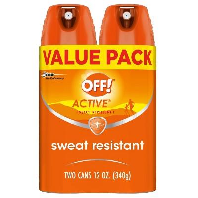 OFF! Active Mosquito Repellent I 2ct - 6oz