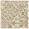 "Cream Abstract Woven Area Rug - (5'3""X7'6"") - Orian - image 3 of 4"