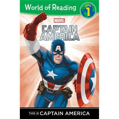 This Is Captain America (World of Reading) - by DBG (Paperback)