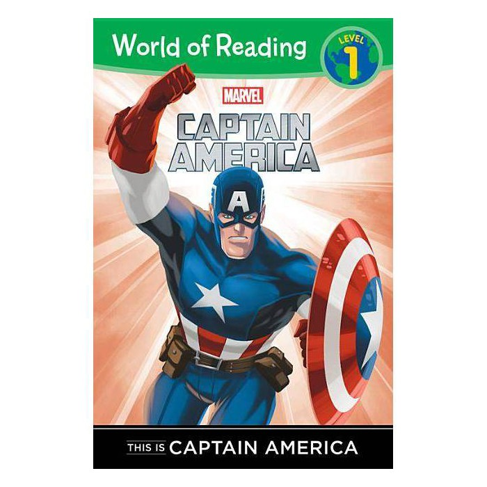 This Is Captain America -  (World of Reading) (Paperback) - image 1 of 1