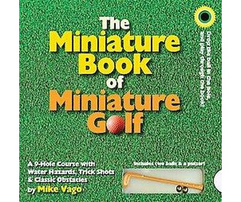 The Miniature Book of Miniature Golf (Board) by Mike Vago - image 1 of 1