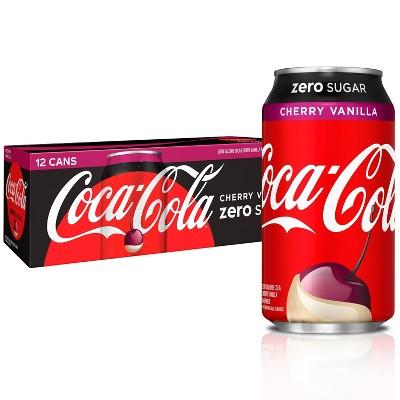 Coca-Cola Cherry Vanilla Zero - 12pk/12 fl oz Cans