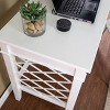 Mafsney Writing Desk White - Aiden Lane - image 4 of 4