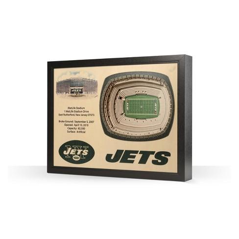 d859b3a4 NFL New York Jets StadiumViews Wall Art - MetLife Stadium