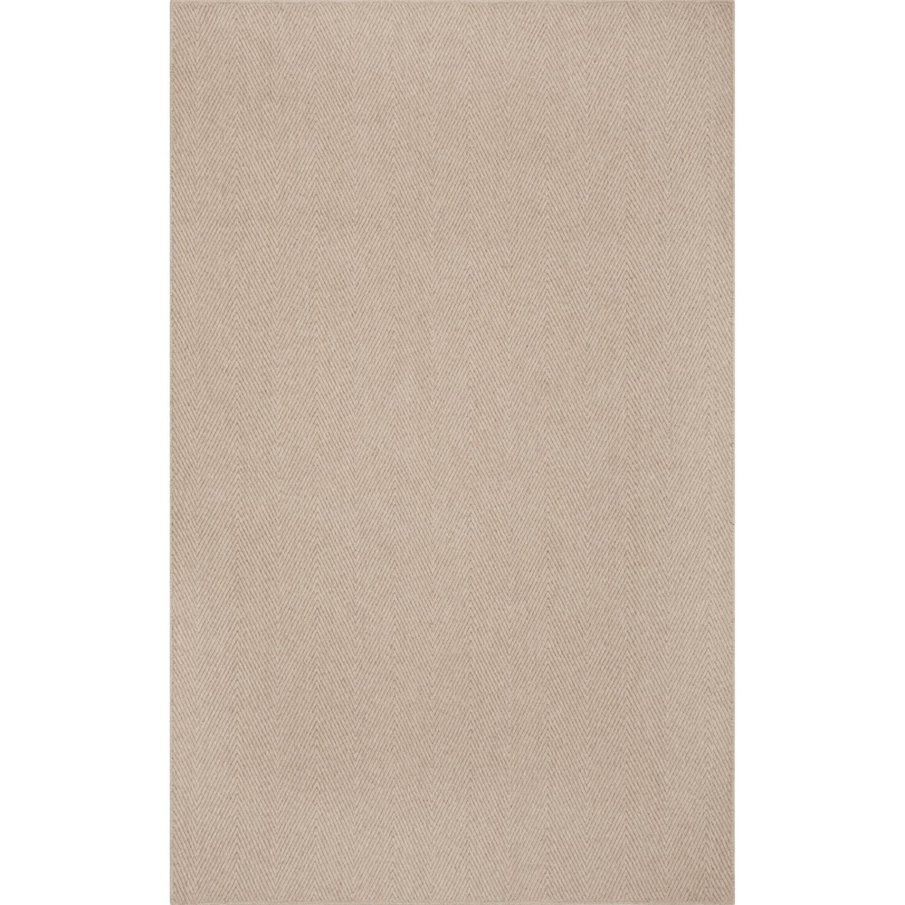 "Image of ""2'3""""x8' Runner Jaxon Farmhouse Area Rug Tan - Addison Rugs"""