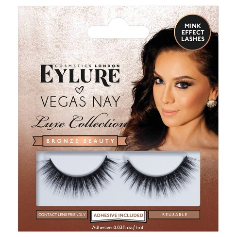c774a561f39 Eylure False Eyelashes Vegas Nay Luxe Collection Bronze 1 Ct