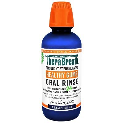 TheraBreath Healthy Gums Oral Rinse Mint - 16 fl oz