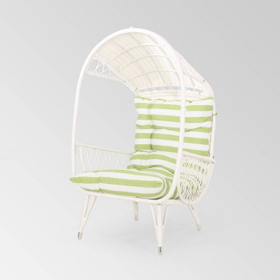 Malia Wicker Standing Basket Chair - Christopher Knight Home