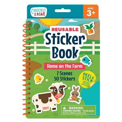 Chuckle & Roar Reusable Sticker Book - Farm Collection