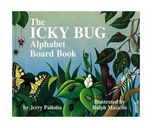 Icky Bug Alphabet book (Hardcover) (Jerry Pallotta) - image 1 of 1