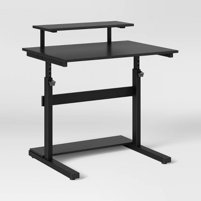 Adjustable Standing Desk Black - Room Essentials™