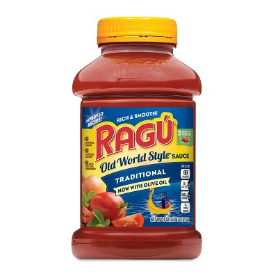 Ragu Old World Style Traditional Pasta Sauce - 45oz