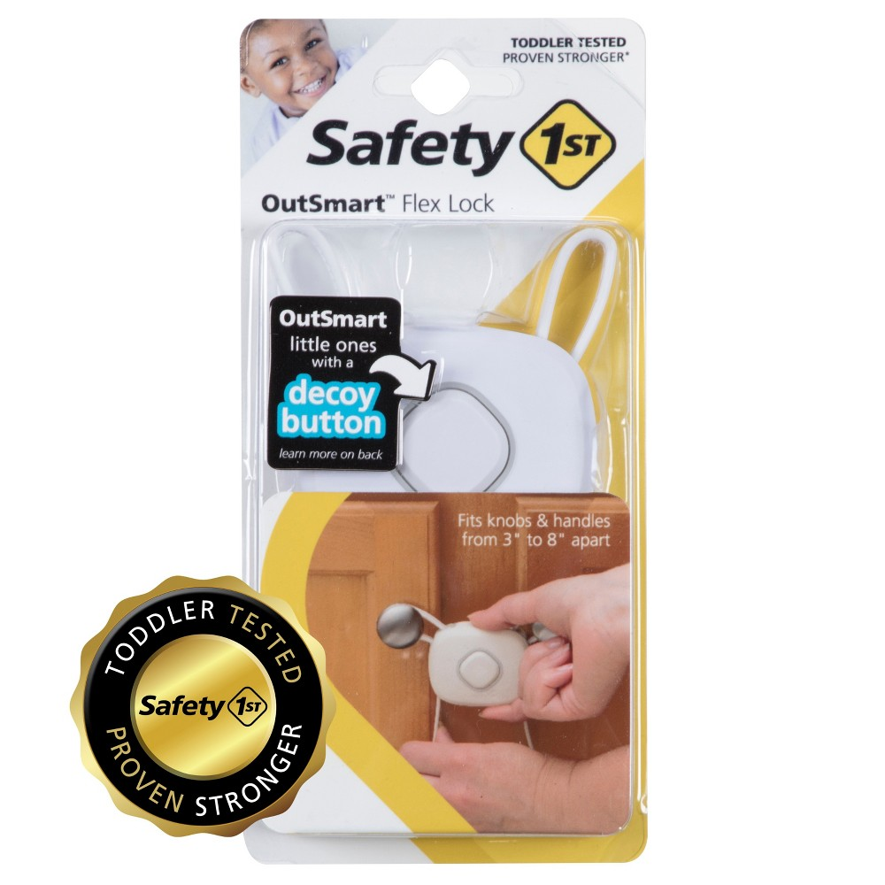 Image of Safety 1st OutSmart Flex Lock White