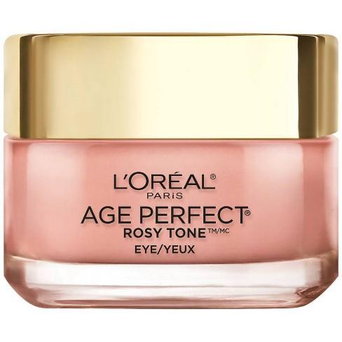 L Oreal Paris Age Perfect Rosy Tone Eye Brightener 0 5oz Target