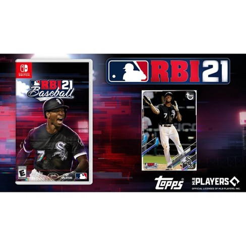 MLB RBI Baseball 21 - Nintendo Switch with Topps Foil Card - image 1 of 4