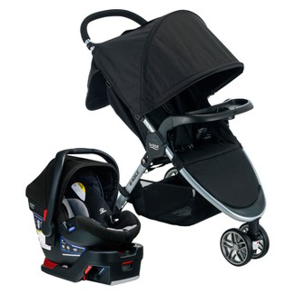 Britax Dual Comfort Travel System - Gray/Black