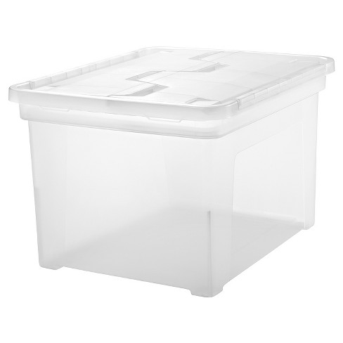 IRIS LetterLegal Wing Lid File Box - image 1 of 4