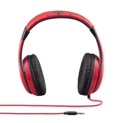 Marvel Spider-Man Kids' On-the-Ear Wired Headphones