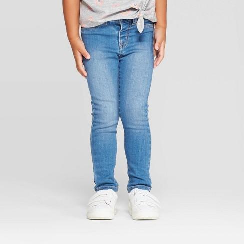 Toddler Girls' Jeans - Cat & Jack™ Blue - image 1 of 3