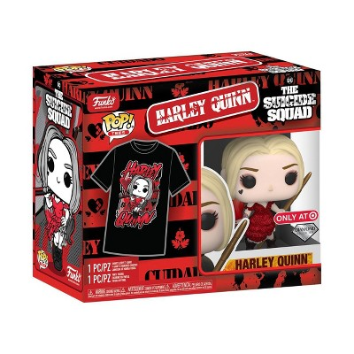 Funko POP! Collector's Box: Suicide Squad - Harley Quinn POP! & Tee (Target Exclusive)