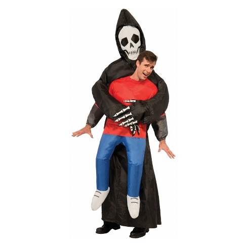 Adult Inflatable Reaper Halloween Costume - image 1 of 1