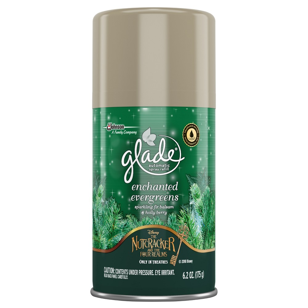 Glade Disney Enchanted Evergreens Automatic Spray Air Fre...