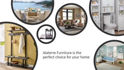 "40"" Davenport Wood Bench Light Amber - Alaterre Furniture : Target"