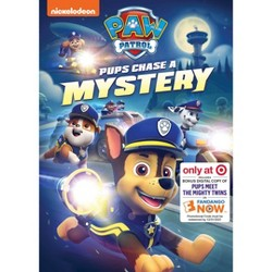 Paw Patrol: Pups Chase a Mystery (Target Exclusive) (DVD)