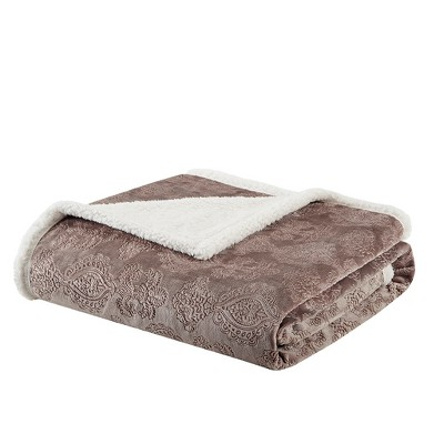 Tan Fleck Throw Blankets ( 60x70 )