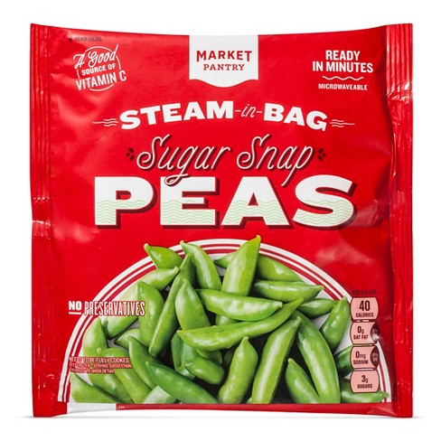 Whole Sugar Snap Peas 16 oz - Market Pantry™ - image 1 of 1