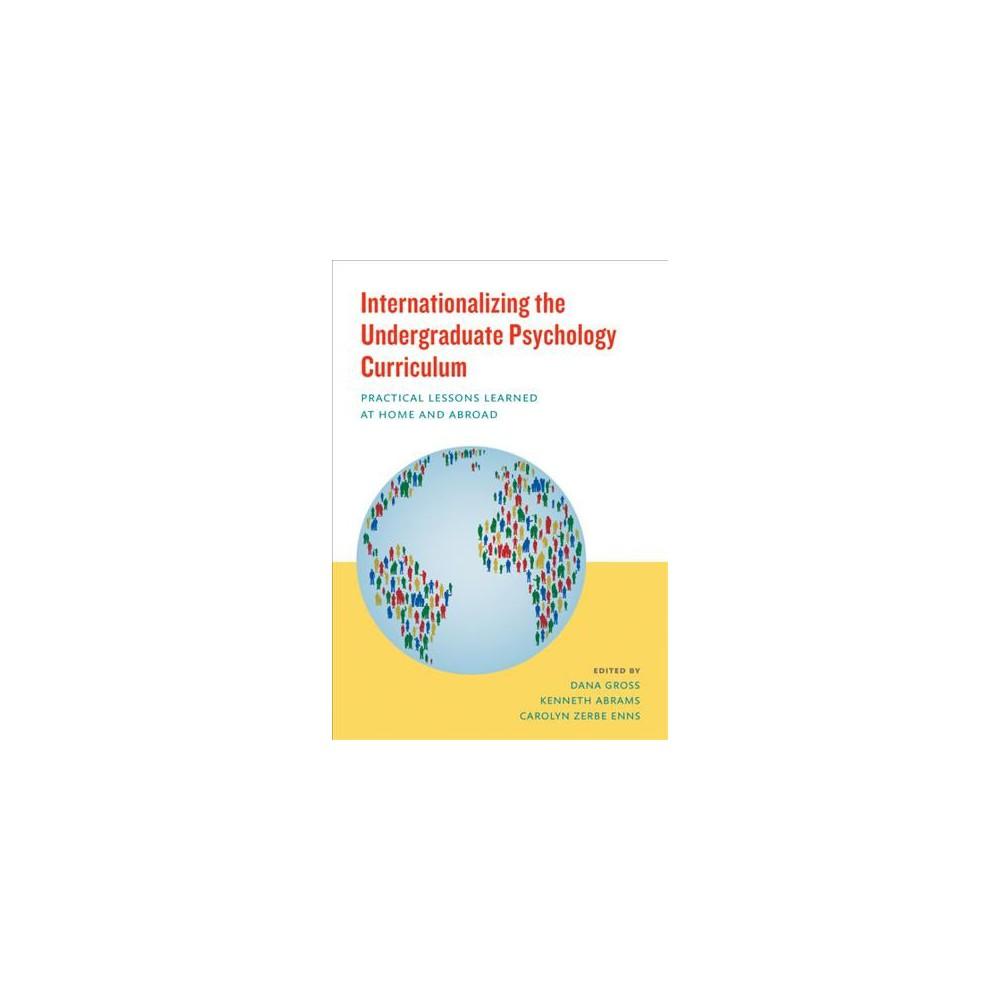 Internationalizing the Undergraduate Psy (Paperback)