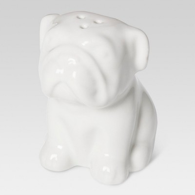 English Bulldog Stoneware Salt Shaker - Threshold™