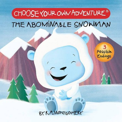 The Abominable Snowman (Board Book) - (Choose Your Own Adventure: Your First Adventure) by  R a Montgomery