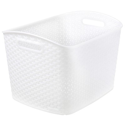 Y-Weave 11 x13  Decorative Bin Clear - Room Essentials™