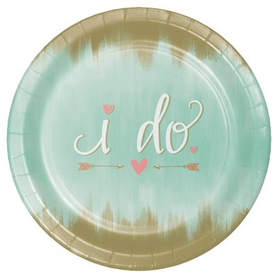 "Mint To Be 10"" Banquet Plates - 8ct"