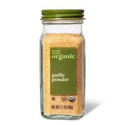Organic Ground Garlic Powder - 2.1oz - Good & Gather™