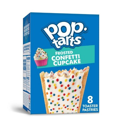 Pop-Tarts Frosted Confetti Cupcake Pastries- 8ct / 13.5oz