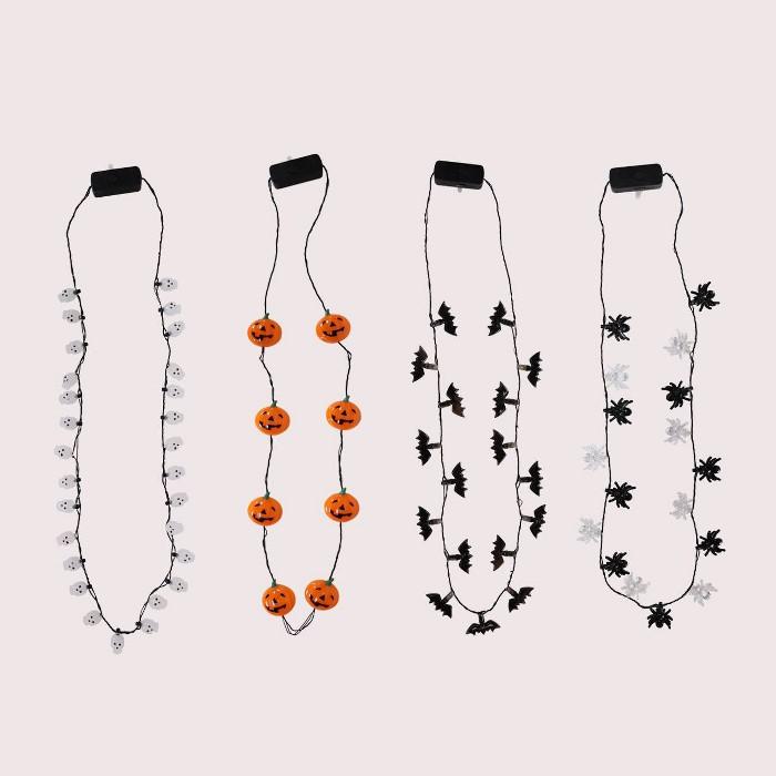 4pk Light-Up Necklaces - Bullseye's Playground™ - image 1 of 1