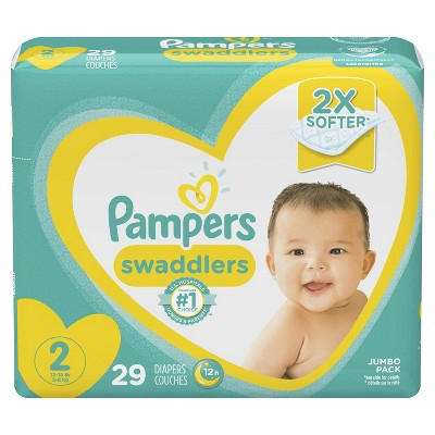 Pampers Swaddlers Diapers Jumbo Pack - Size 2 (29ct)