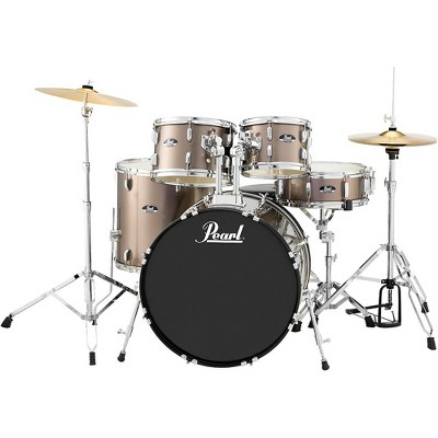 Pearl Roadshow 5-Piece New Fusion Drum Set Bronze Metallic
