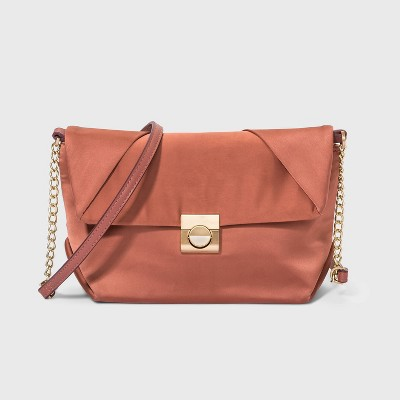 Snap Closure Crossbody Bag - A New Day™