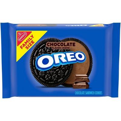 Oreo Chocolate Family Size Sandwich Cookies - 20oz
