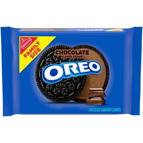 Oreo Chocolate Family Size Sandwich Cookies - 20oz - image 1 of 4