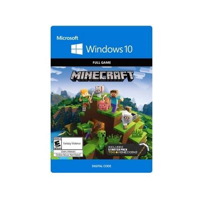Minecraft Windows 10 Starter Collection - PC Game (Digital)