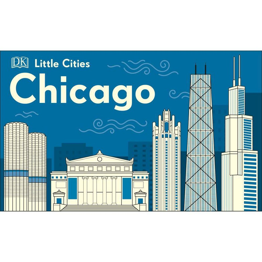 Little Cities Chicago Board Book