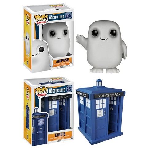 "Funko Doctor Who POP! TV Vinyl Collectors Set: Tardis 6"" and Adipose - image 1 of 3"